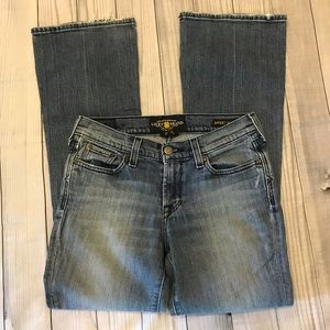 Lucky Brand Leslie Sweet N Low Blue Jeans 2